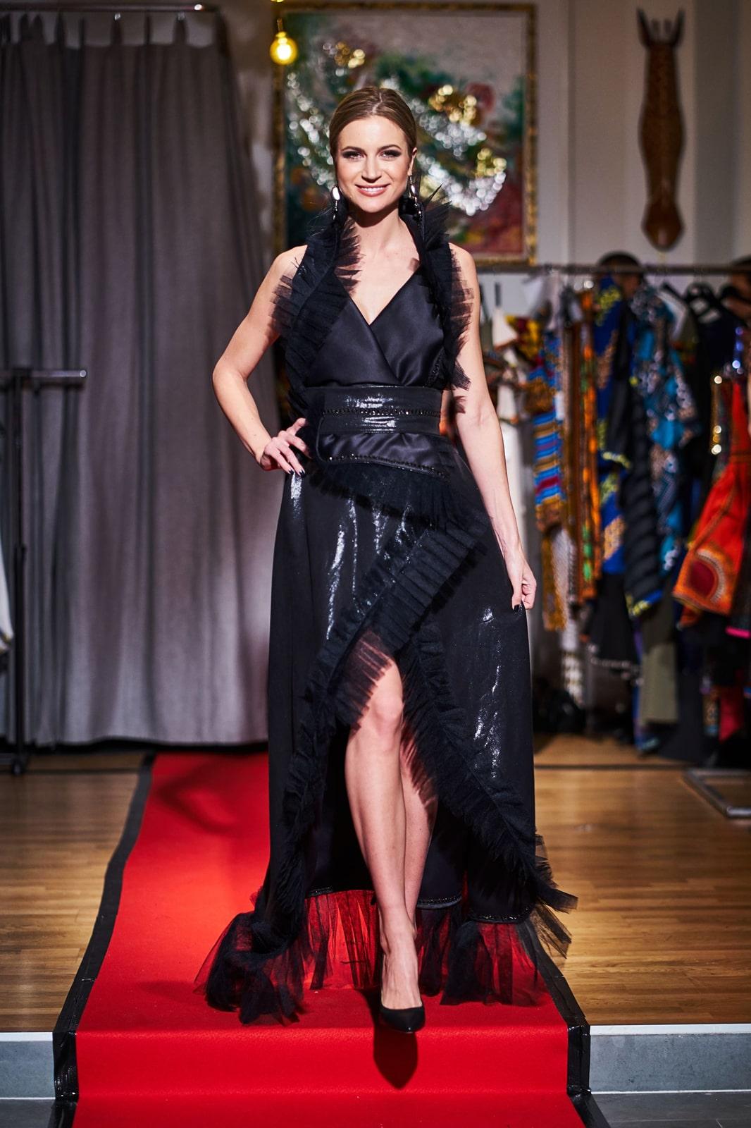 OWC wrap dress
