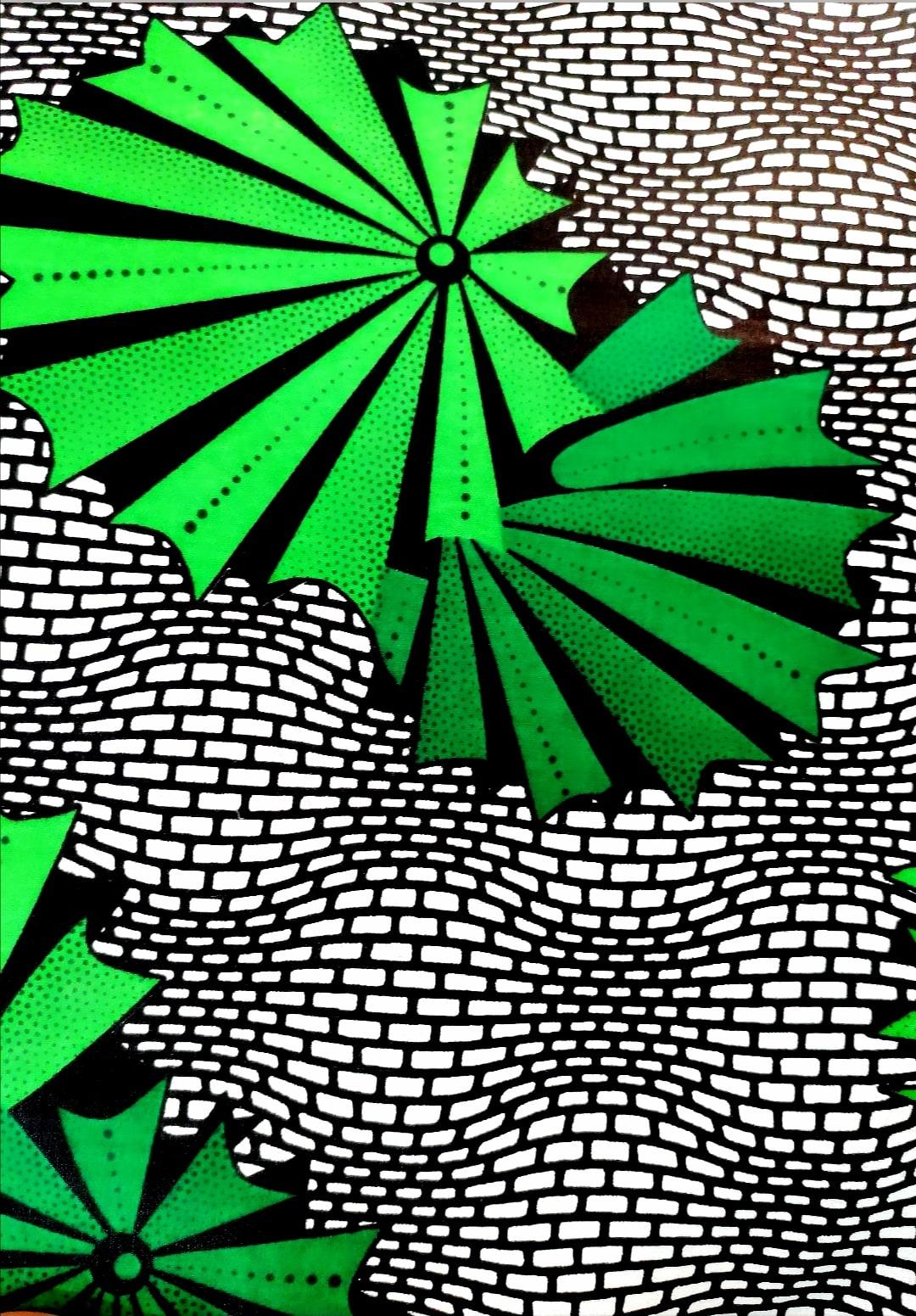 The green fan